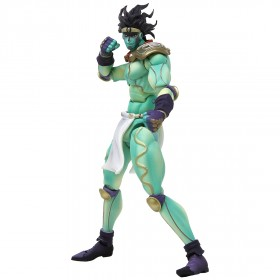 Medicos Super Action Statue JoJo's Bizarre Adventure Star Platinum Figure Re-Run (green)