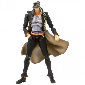 Medicos Super Action Statue JoJo's Bizarre Adventure Jotaro Kujo Ver.1.5 Figure Re-Run (gray)