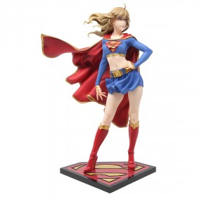 Kotobukiya DC Comics Supergirl Returns Bishoujo Statue Re-run (red)