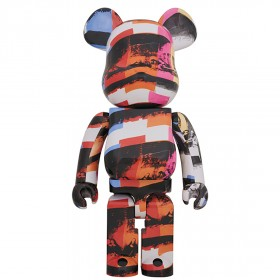 PREORDER - Medicom Andy Warhol The Last Supper 1000% Bearbrick Figure (multi)
