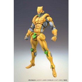 PREORDER - Medicos Super Action Statue JoJo's Bizarre Adventure Part 3 Stardust Crusaders The World Chozokado Figure Re-Run (yellow)