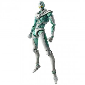 PREORDER - Medicos Super Action Statue JoJo's Bizarre Adventure Part 3 Stardust Crusaders Hierophant Green Chozokado Figure (green)