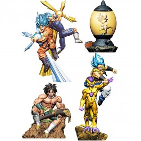 PREORDER - MegaHouse Dragon Ball Super Dracap Re Birth Super Power Ver. Box Of 4 Figures (multi)