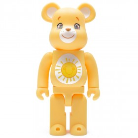 Medicom Care Bears Funshine Bear 400% Bearbrick Figure (yellow)