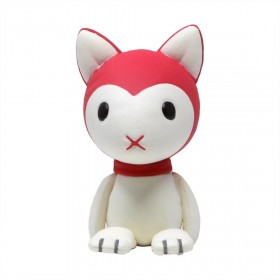 Medicom UDF Studio Chizu Series 2 Wolf Children Yuki Plush Ultra Detail Figure (red)