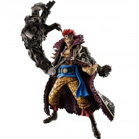 One Piece Eustass Captain Kid POP 1/8 Scale Figure (black)