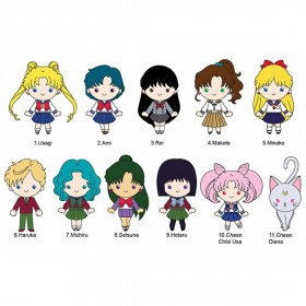 Monogram Sailor Moon 3D PVC Foam Key Ring Series 3 - 1 Blind Box