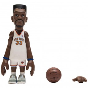 64286043f84f MINDstyle x Coolrain NBA Legends New York Knicks Patrick Ewing Figure  (white)