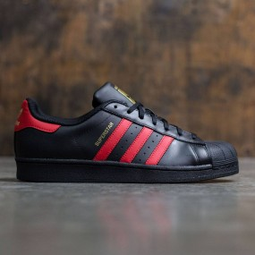 pretty nice 500f0 b15bb Adidas Men Superstar (black   scarlet   gold metallic)