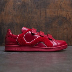 Adidas x Raf Simons Men Stan Smith Comfort Badge (red   power red) 6c2fb727b