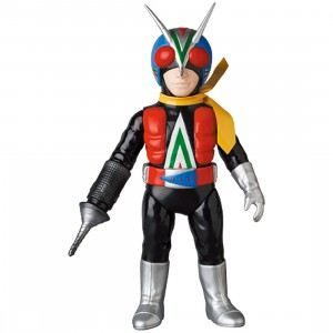PREORDER - Medicom Kamen Rider Riderman Drill Arm Sofubi Figure (black)