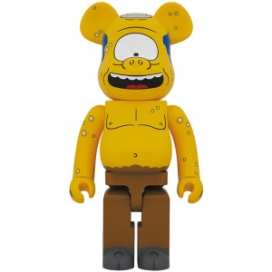 PREORDER - Medicom The Simpsons Cyclops 1000% Bearbrick Figure (yellow)