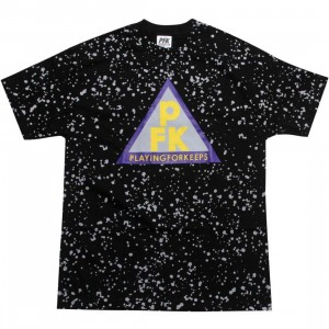 Playing For Keeps Triangle Tee (black)