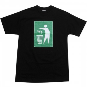 Playing For Keeps Shoe Recycle Tee (black)