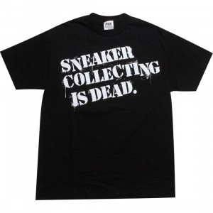 Playing For Keeps Sneaker Collection is Dead Tee (black)