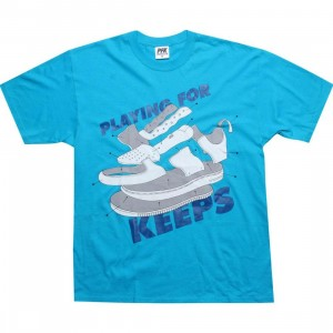 Playing For Keeps AF1 Dissect Tee (teal)