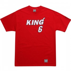 UNDRCRWN King 6 Tee - LeBron Miami (red)