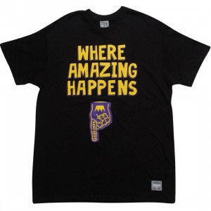 UNDRCRWN Where Amazing Happens Tee (black / gold / purple) - PYS.com Exclusive