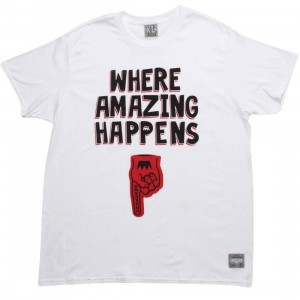 UNDRCRWN Where Amazing Happens Tee (white / black / red) - PYS.com Exclusive