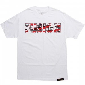 Sneaktip x PYS.com Exclusive Fusion 8 Tee - White Red (white)