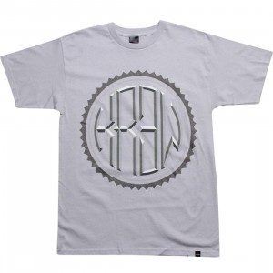 KR3W Rounder Tee (silver)