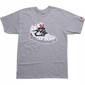 Reebok x PYS.com Shoe Be Do Tee (heather grey)