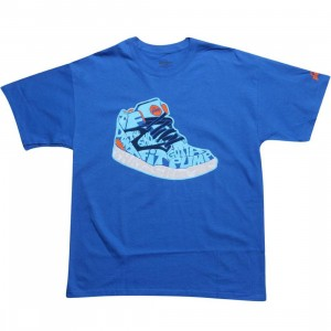 Reebok x PYS.com Shoe Be Do Tee (royal blue)