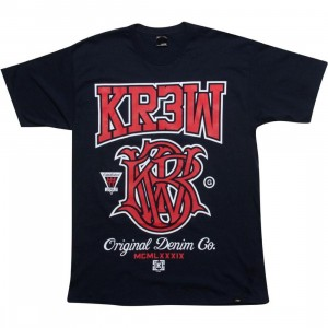 KR3W Champion Tee (navy)