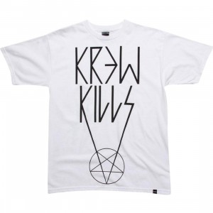 KR3W Kills Tee (white)