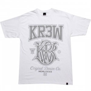 KR3W Champion Tee (white / grey)