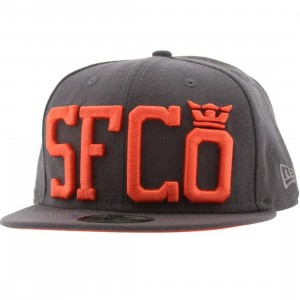 Supra SFCO New Era Fitted Cap (brown / orange)