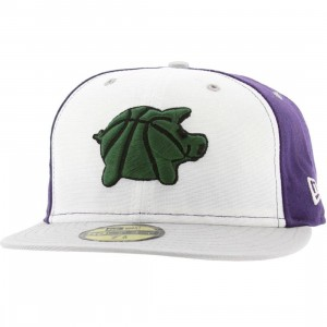 UNDRCRWN x New Era Ball Hog Fitted Cap (purple / forest green)