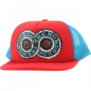 The Hundreds Forever Truckin Snapback Cap (red / blue)