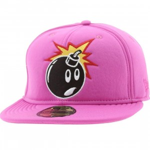 The Hundreds Soft Adam New Era Fitted Cap (fuschia)
