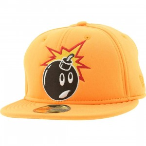 The Hundreds Soft Adam New Era Fitted Cap (orange)
