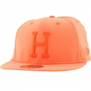 Huf 3M Reflective Neon Orange New Era Fitted Cap (neon orange)