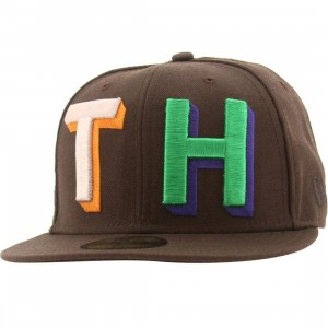The Hundreds Custom New Era Fitted Cap (brown)