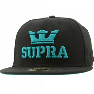Supra Site New Era Fitted Cap (black)