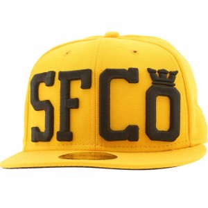 Supra SFCO New Era Fitted Cap (yellow)