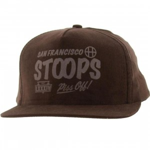 Huf San Francisco Stoops Corduroy Cap (brown)