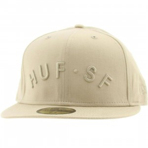 Huf Arch SF New Era Fitted Cap (brown)