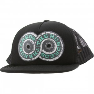 The Hundreds Forever Truckin Snapback Cap (black)