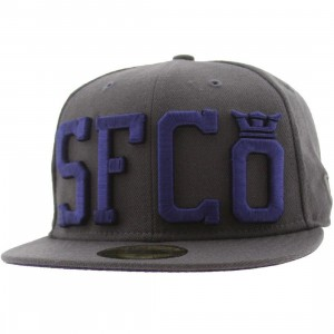 Supra SFCO New Era Fitted Cap (grey)