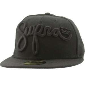 Supra Scribz New Era Fitted Cap (black)