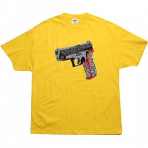 Playing For Keeps Hype Kills Tee (yellow)