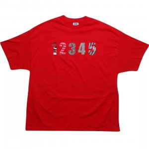 Playing For Keeps Jordan 1-5 Tee (red)