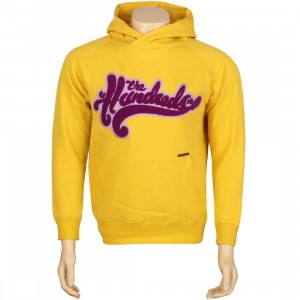 The Hundreds Whirls Pullover Hoody (gold)