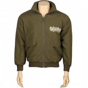 The Hundreds Runner Jacket (olive)