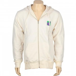The Hundreds Multi Zipup Hoody (cream)