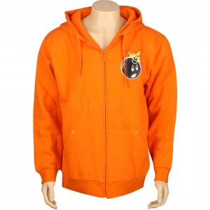 The Hundreds Weather Zipup Hoody (orange)